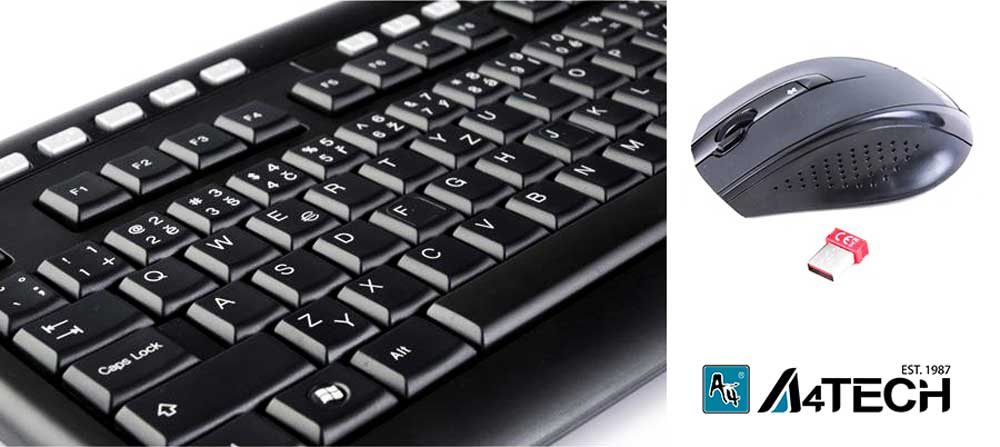 A4TECH 9200F Wireless mouse and keyboard