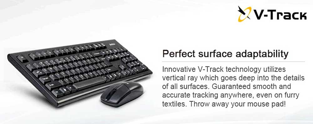 A4TECH 3100N Wireless mouse and keyboard