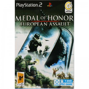 MEDAL OF HONOR EUROPEAN ASSAULT PS2 گردو