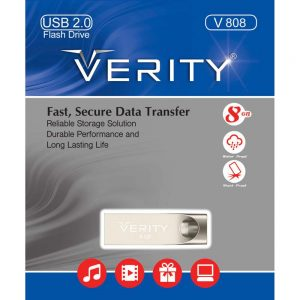 فلش وریتی Verity V808 8GB