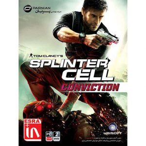2DVD بازی کامپیوتر Splinter Cell Conviction PC پرنیان