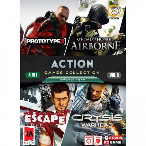 ACTION GAME COLLECTION Vol.8 PC 2DVD9 گردو