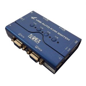 K-NET PLUS KVM Switch USB 4Port