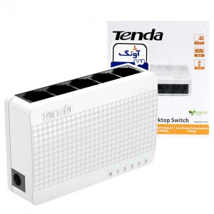 سوییچ ۵ پورت Tenda S105 5Port Desktop Switch