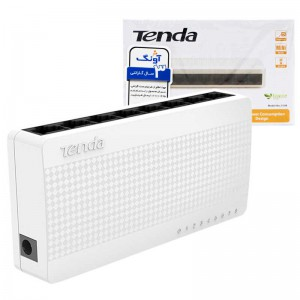 سوییچ ۸ پورت Tenda S108 8Port Desktop Switch