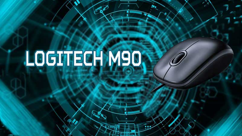 موس Logitech m90 Optical + گارانتی