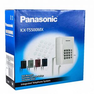 تلفن Panasonic KX-TS500MX سفید
