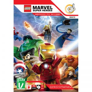 Lego Marvel Super Heroes PC 2DVD گردو