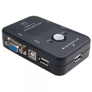 V-net KVM SWITCH 2PORT USB 2.0