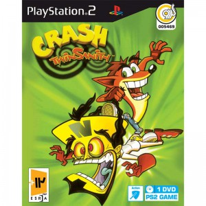 CRASH TWIN SANITH PS2 گردو