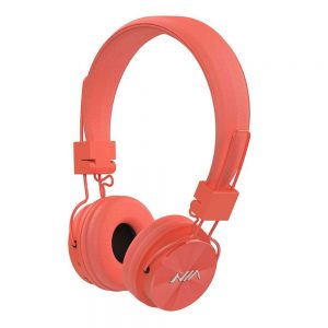 NIA X3 Light Salmon Bluetooth Headset