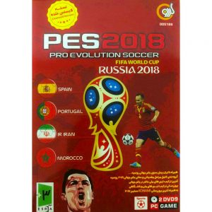 Pes 2018 World Cup Russia 2018 PC 2DVD9 گردو