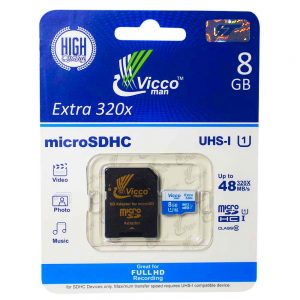 رم Vicco man Micro U1 48MB/S 8GB