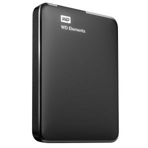 Western Digital Elements USB 3.0 Hard Drive External Box