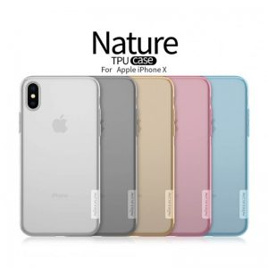 قاب ژله ای NILLKIN Nature Tpu Apple iPhone X