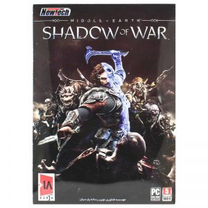 5DVD9 بازی کامپیوتر Middle Earth Shadow of War نیوتک