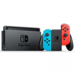 کنسول بازی Nintendo Switch Neon Blue and Neon Red Joy-Con + گارانتی