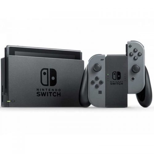 کنسول بازی Nintendo Switch With Gray Joy Con Station + گارانتی