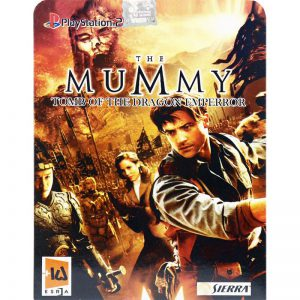 The MUMMY Tomb Of The Dragon Emperor PS2 لوح زرین