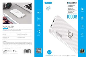 پاوربانک VERITY V-PP107 10000mAh Wireless سفید