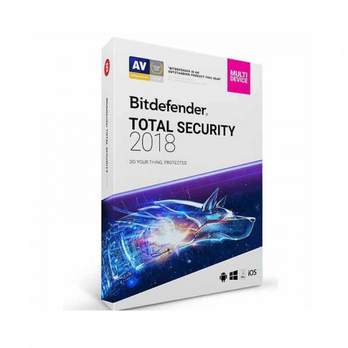 آنتی ویروس اورجینال Bitdefender Total Security Antivirus Software 2018 - 3 User