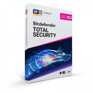 آنتی ویروس اورجینال Bitdefender Total Security Antivirus Software 2019 - 3 User