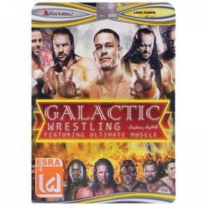 Galactic Wrestling PS2