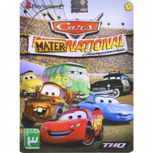 Mater Cars National PS2