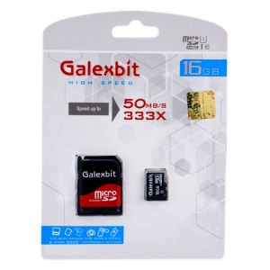 رم میکرو Galexbit 50MB/s 16GB