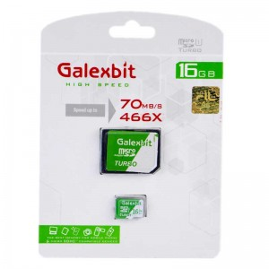 رم میکرو Galexbit 70MB/s Turbo 16GB