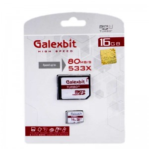 رم میکرو Galexbit 80MB/s Turbo+ 16GB