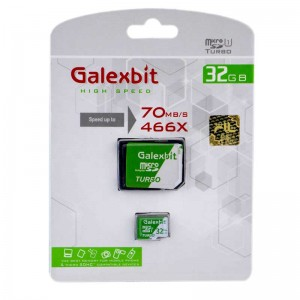 رم میکرو Galexbit 70MB/s Turbo 32GB