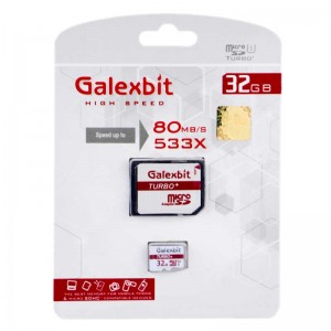 رم میکرو Galexbit 80MB/s Turbo+ 32GB