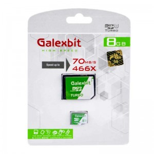 رم میکرو Galexbit 70MB/s Turbo 8GB