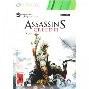 Assassin's Creed III XBOX 360 پرنیان