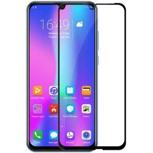 گلس تمام چسب Huawei Honor 10 Lite Full Cover مشکی