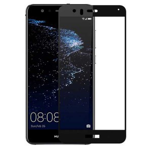 گلس تمام چسب Huawei Honor 8 Lite Full Cover مشکی
