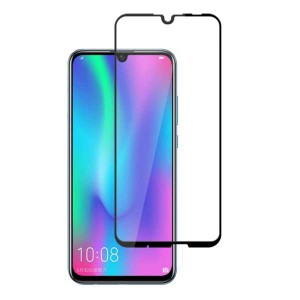 گلس تمام چسب Huawei P Smart 2019 Full Cover مشکی