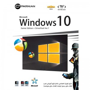 Windows 10 Gamers Edition + DriverPack Ver.7 1DVD9 پرنیان