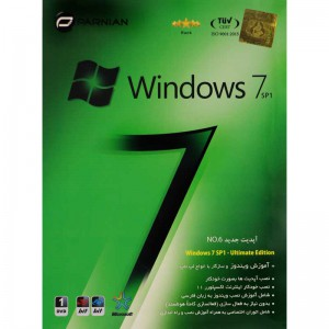 Windows 7 SP1 No.6 1DVD پرنیان