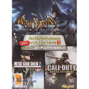 Action Games COLLECTION 6 عصربازی