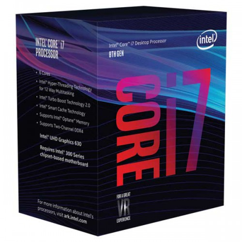 پردازنده CPU Intel Core i7-8700 3.2GHz