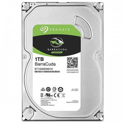 هارد اینترنال Seagate BarraCuda ST1000DM010 1TB