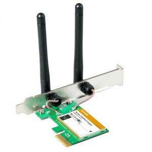 کارت شبکه Tenda W322E Wireless N300 PCI Express Adapter
