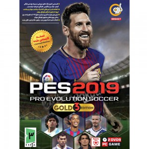 PES 2019 Gold 3 Edition PC 2DVD9 گردو