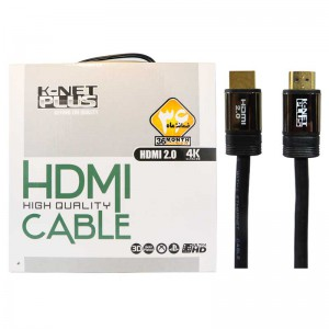 کابل HDMI کی نت پلاس K-net Plus HDMI 2.0 4K 10m