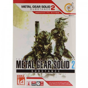 Metal Gear Solid Substance 2 PC 2DVD گردو