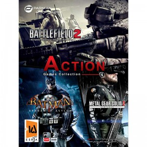 Action Games Collection 4 2DVD9 پرنیان
