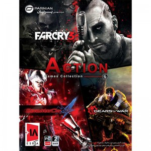 Action Games Collection 6 2DVD9 پرنیان