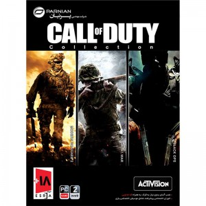 Call Of Duty Collection 2DVD9 پرنیان